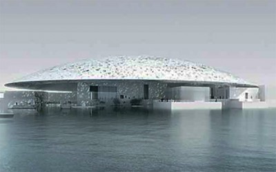 Louvre Museum in Abu Dhabi