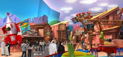Warner Bros World Abu Dhabi First Look